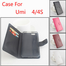 Buy 4 Style Luxury Wallet Design PU Leather Case Umi 4 4S Genuine Fashion Flip Leather Case Umi 4 4S Flip Cover Case for $4.25 in AliExpress store