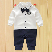 2016 Baby Rompers Autumn Roupas Infant Boy Clothing Set Newborn Baby Clothes Spring Cotton Baby Girl Clothing Jumpsuits