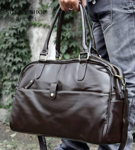 СОЛНЕЧНЫЙ МАГАЗИН новые люди дорожные сумки коричневый и черный цвет Англии мужская ...