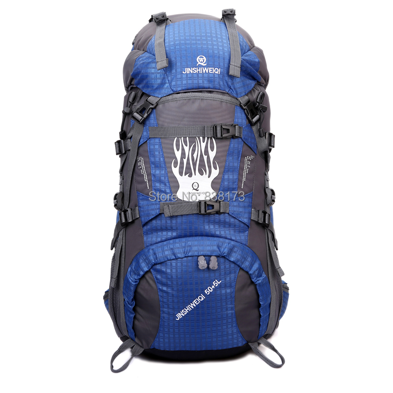 Outdoor sports backpack hiking mountaineering bag camping casual backpacks luggage bags,men women riding - ChuanQi Fashion Bag Store store
