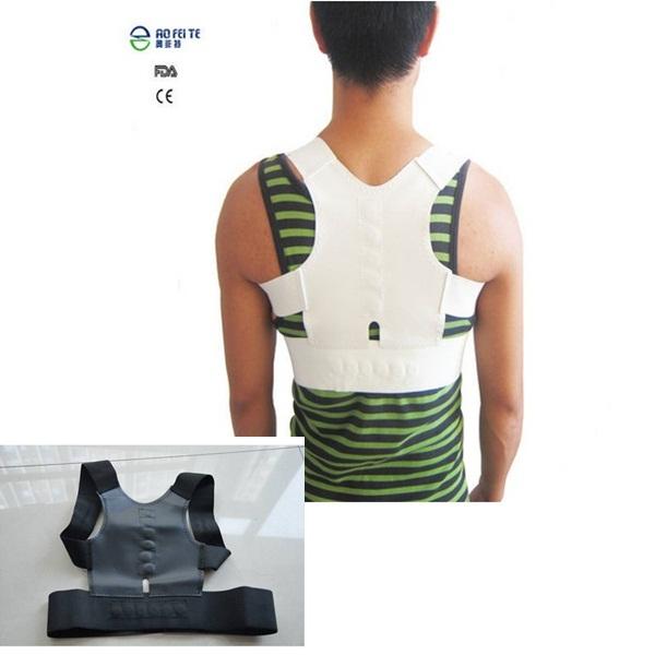 Tourmaline Posture Corrector Belt New Brace Support Belt Hot Sale Magnetic Belt For Back Pain S-XXL Back Correction(China (Mainland))