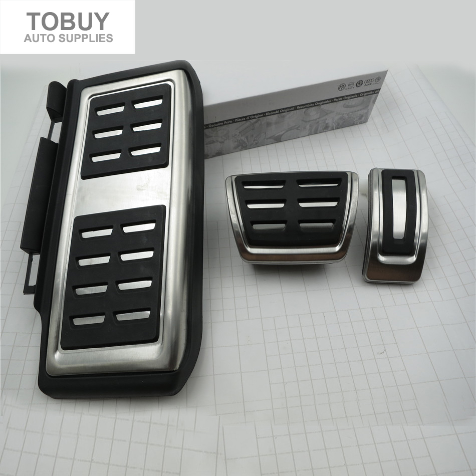 car styling for volkswagen vw golf mk7 7 vii stainless steel sport stainless steel automatic mt. Black Bedroom Furniture Sets. Home Design Ideas
