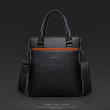 Genuine Leather Briefcase Men Messenger Bags Designer Handbags High Quality Casual Portfolio Male Business Shoulder Laptop Bag(China (Mainland))