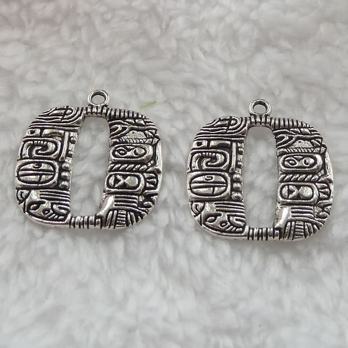 160 pieces antique silver nice charms 24x22mm #321(China (Mainland))