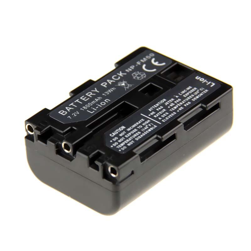 Hot Sale 1pcs NP-FM50 NP FM50 NPFM50 Rechargeable Camera Battery For Sony Alpha A100 DSLR-A100 A100K CCD-TRV408 DCR-PC105<br><br>Aliexpress