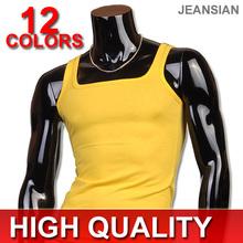 Neue Heiße Herren Unterhemd Sport Mode Lässig Stil Gurt Dünne Muscle Weste Hochwertigen Tank Tops Tees 12 Farben 4 Größen D100(China (Mainland))