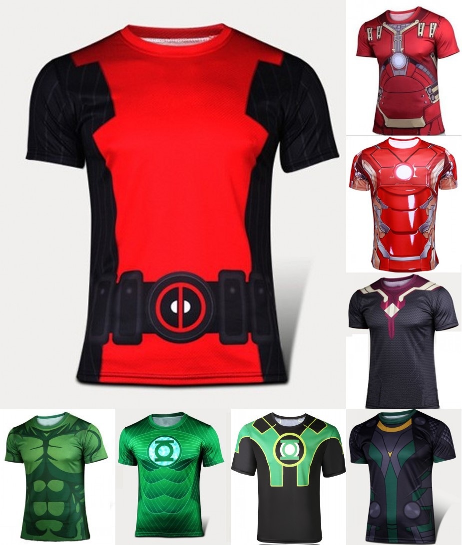 2016,the latest brand new fitness leisure tight fashion quick-drying sports T-shirt free shipping orders wholesale manufacturers(China (Mainland))