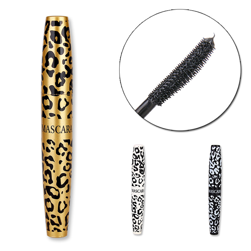 New Beauty Mascara Of The Leopard Lengthening Waterproof Mascara Brand Makeup Fashion Maquillage(China (Mainland))
