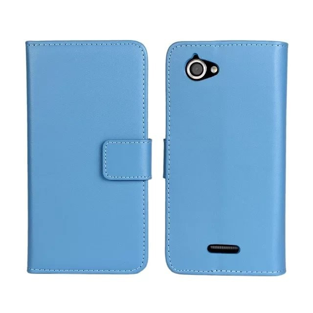 2014 New Luxury Wallet Leather Flip Case For Sony Xperia L S36H C2104 C2105 Mobile Phone Bags With Card Holder&Stand