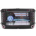 Wince Car DVD Player GPS Navigation Two Din 7 Inch For Skoda POLO PASSAT B6 CC