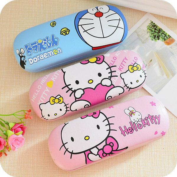 Hello Kitty Cartoon Sunglasses Glasses Box.Glasses Case.Hard Case Protable Eyewear Boxes.Cute anti-pressure drop resistance box(China (Mainland))