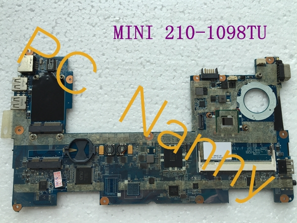 For Hp Mini 210-1098TU 210 Laptop Motherboard DANM6AMB6F0 598011-001 With N450 Cpu DDR2 Integrated Full Tested(China (Mainland))