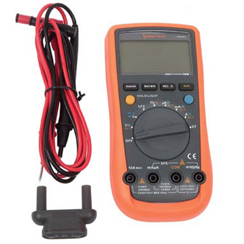 Professional UNI-T UT-61A LCD Handheld Auto/Manual Ranging Modern Digital Multimeters UT61A AC DC Hz hEF C Meters(China (Mainland))