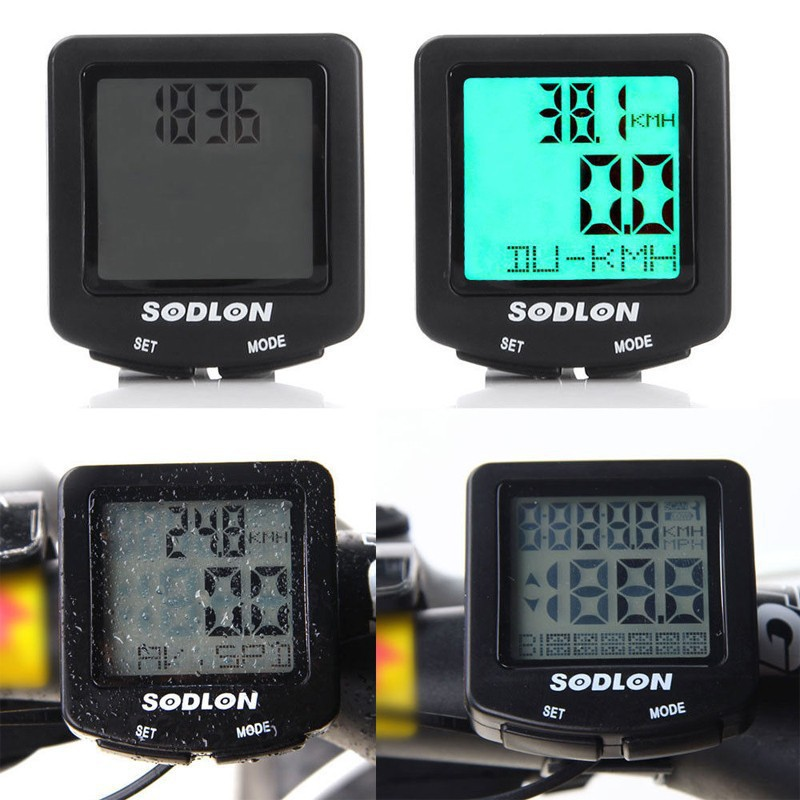 Cycling LCD BackLight Cycle Bicycle Bike Computer Speedometer Odometer Waterproof Stopwatch SD-571 - Shenzhen NKU Electronic Co., Ltd. store