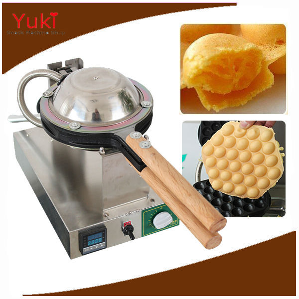 Commercial Hongkong Popular Egg Cake Maker Egg Muffin Oven Waffle Machine Stainless Steel 2016(China (Mainland))