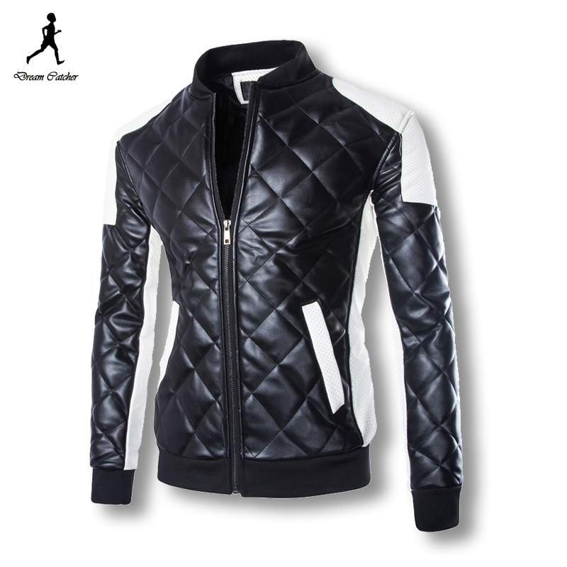 2016 Winter Men Leather Jackets Slim Fit Best Quality Mens Leather Jackets And Coats Plus Size Jaqueta De Couro Masculina(China (Mainland))