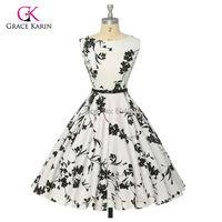 Dropshiping 2015 Summer Style Pin up Dress Audrey hepburn Women Vintage Retro 50s Rockabilly Swing Party Desigual Dress vestidos
