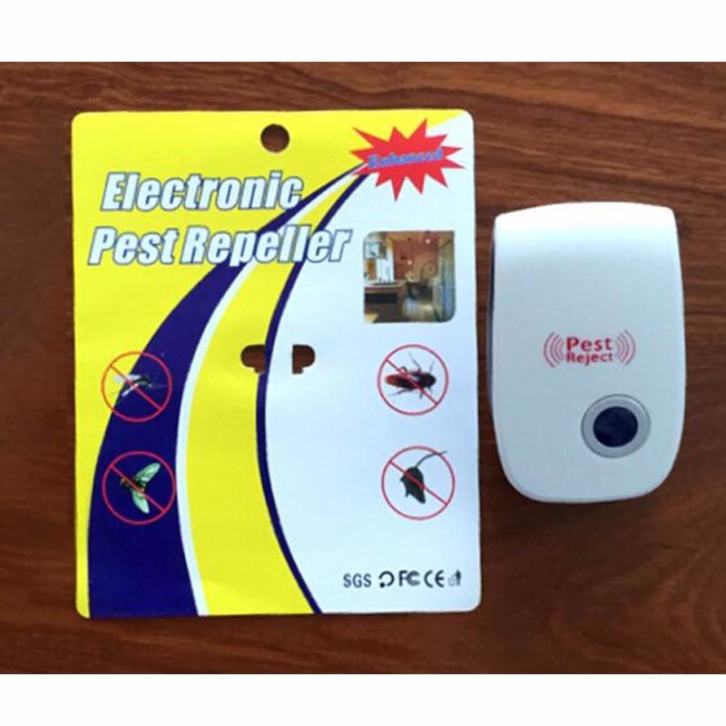 Free Shipping, Ultrasonic Electronic Mosquito Repeller, Home Mosquito Repellent Fly Electromotor Repeller Cockroach(China (Mainland))