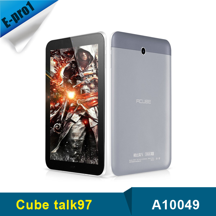 Original Dual Sim Cube u59gt Talk97 Tablet pc 9 7 inch IPS MTK8382 Quad Core 1