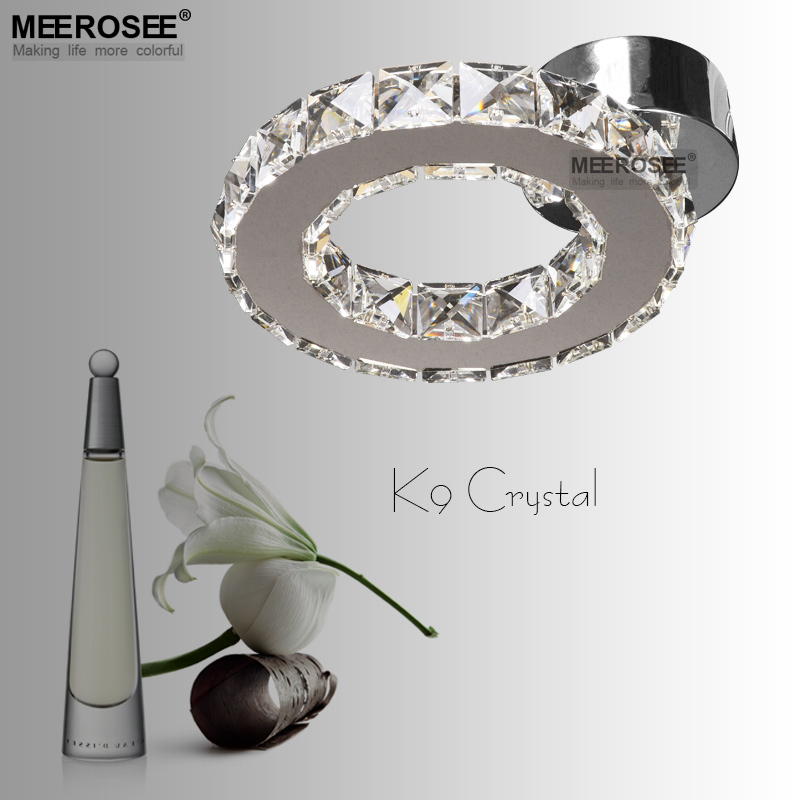 Crystal LED Ceiling Light lustres de sala Diamond Crystal Ring Light LED Lighting Bedroom Lamp used for Ceiling or Wall(China (Mainland))