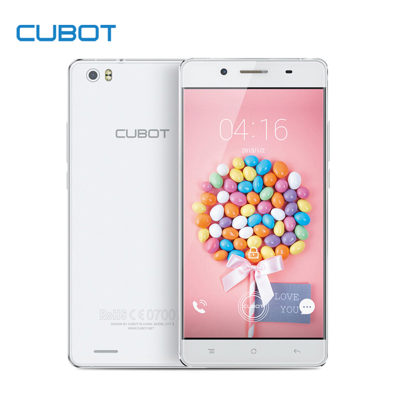Original Cubot X17S 5.0 Inch FHD Screen Smartphone MTK6735 Quad Core Cell Phone 3GB RAM+16GB ROM Android 5.1 Mobile Phone(China (Mainland))