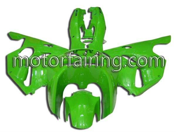 Aftermarket ABS Fairing Kit For Kawasaki Ninja ZX6R ZX636 94-97 1994 1995 1996 1997 Body Frames Motorcycle/Race Fairings Green