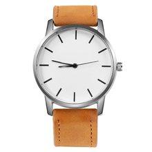 Relogio Masculino mode montre pour hommes grand cadran militaire hommes montre en cuir Sport montres pour hommes horloge montre-bracelet Reloj Hombre(China)