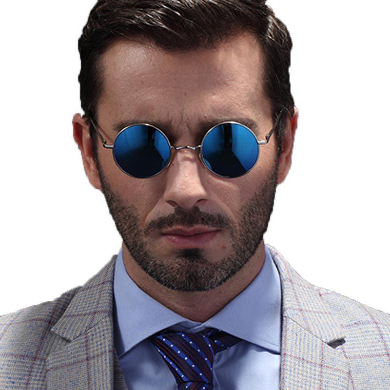 2015 New Classic John Lennon Small Round Polarized Sunglasses Mens Womens Vintage Retro Mirror Sun Glass Oculos de sol Masculino(China (Mainland))