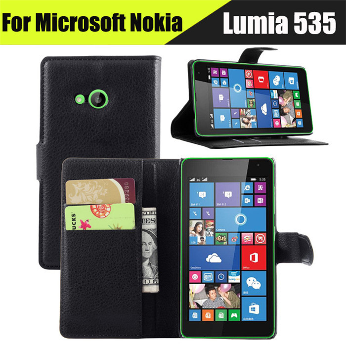 1PCS New Luxury Wallet Flip Leather Case Cover For Nokia ...