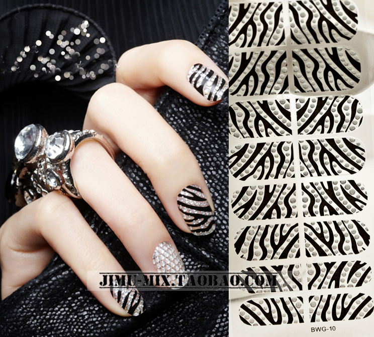2015 Promotion Hot Sale Sticker On Nails Europe And The Diy Stereoscopic 3d Nail Stick Crystal Diamond Stickers(China (Mainland))