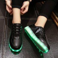 7 Color Simulation yeezy chaussure lumineuse Shoes Adults Superstar Unisex LED Luminous shoe Men & women Casual Shoes led shoe(China (Mainland))