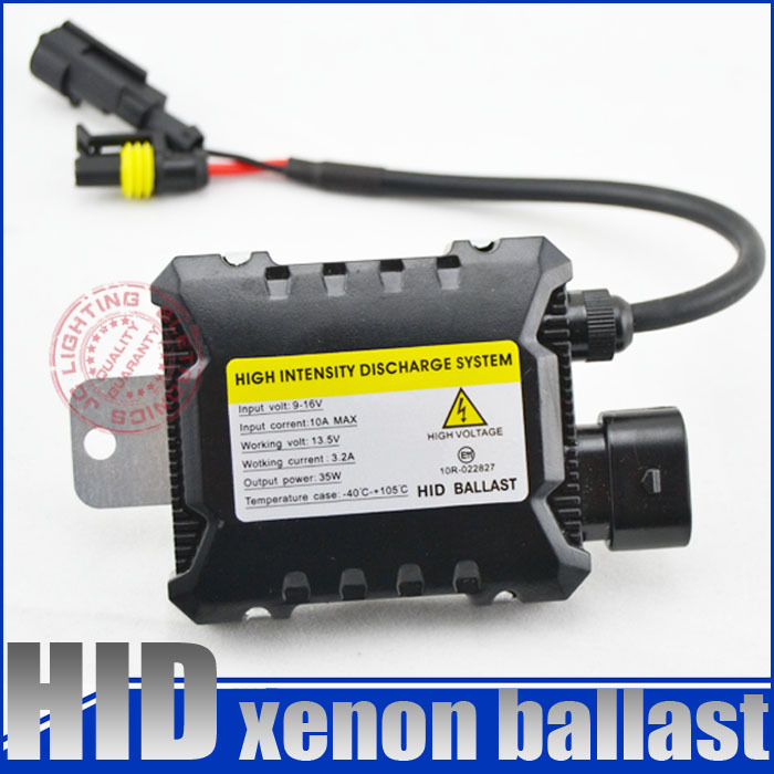 35w turtle slim xenon hid ballast replacement,electronic ballast blocks, easy to install for car headlight ,motorcyle(China (Mainland))