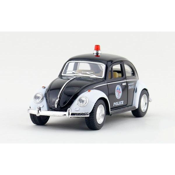 Children Kids Kinsmart 1967 Volkswagen Classic Beetle Police Model Car 1:32 5inch Diecast Metal Alloy Cars Toy Pull Back Gift(China (Mainland))