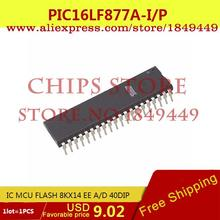 Electronic Parts PIC16LF877A-I/P IC MCU FLASH 8KX14 EE A/D 40DIP PIC16LF877A-I 16LF877 PIC16LF877 - Chips Store store