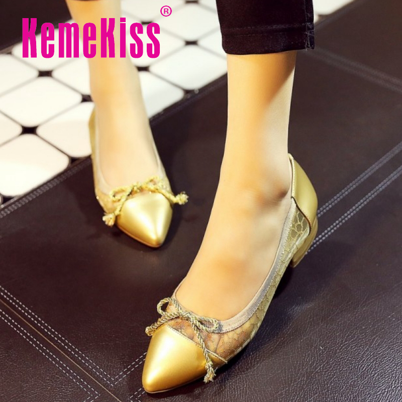 women real genuine leather party casual flats leisure shoes woman bowknot sexy fashion brand ladies shoes size 33-43 R7064<br><br>Aliexpress