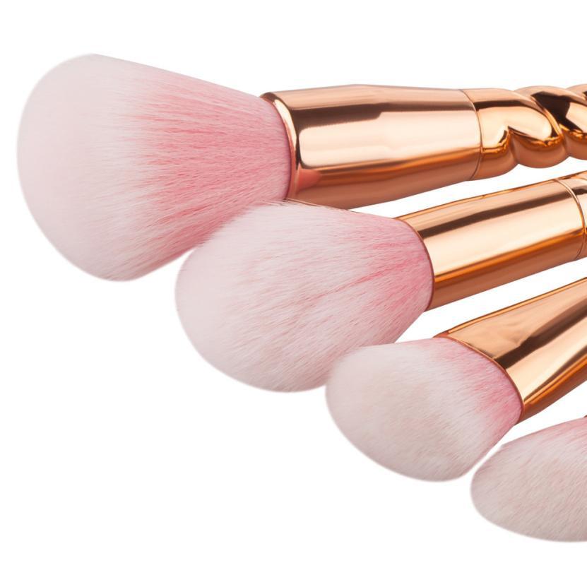 Hot Professional Charming 5PCS  Make Up Foundation Eyebrow Eyeliner Blush Cosmetic Concealer Brushes Beauty Girl Nov 3