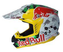 Brandnew casque de moto Red Bull Casco Capacetes Off Road casque de course vtt Dirt Bike Motocross casques cee approuvé(China (Mainland))