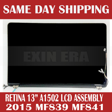 "2015 Year Original New Retina 13"" A1502 LCD Assembly for MacBook Pro Retina 13.3"" A1502 MF839 MF841 Original Tested!(China (Mainland))"