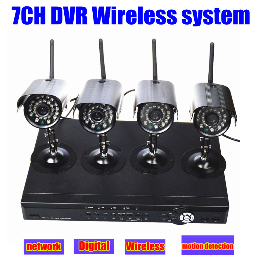 2 4g cctv wireless home camera video surveillance security. Black Bedroom Furniture Sets. Home Design Ideas