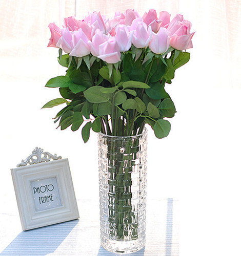 Free shipping 10pcs lot fresh rose artificial flowers for Real plants for home decor
