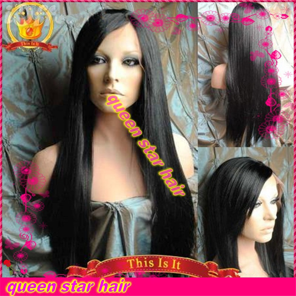 Milddle parting Silk top glueless full /front lace wig,best wholesale price<br><br>Aliexpress
