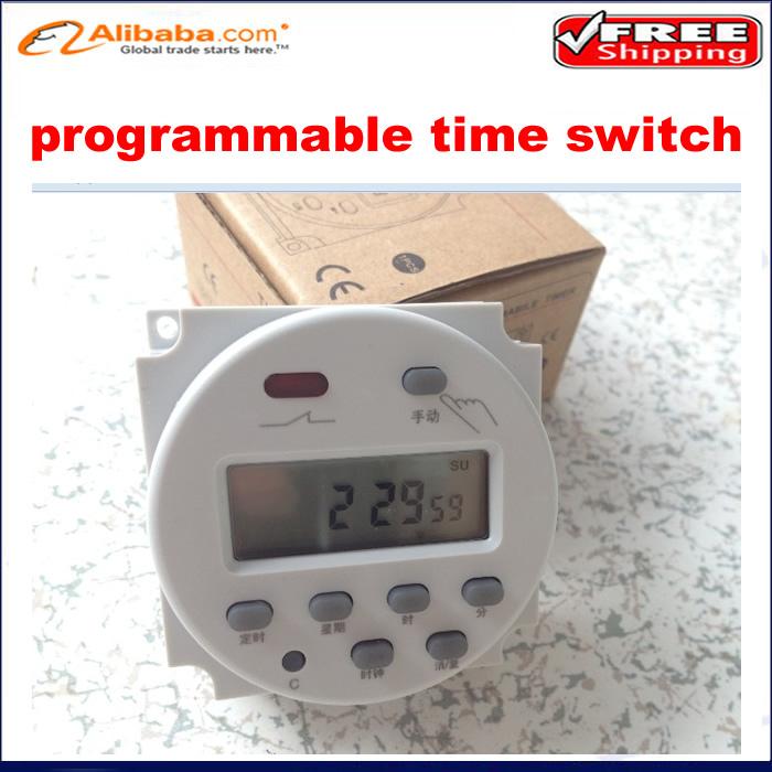 Таймерный выключатель AC 220V