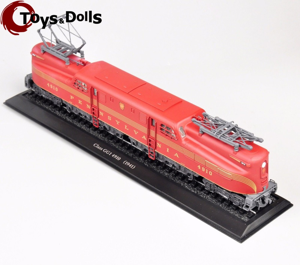 Collectible Atlas 1/87 Scale Train Model Toys Class GG1 4910(1941) Tram Diecast Car Model Truck Bus Kids Toys brinquedos Gifts F(China (Mainland))