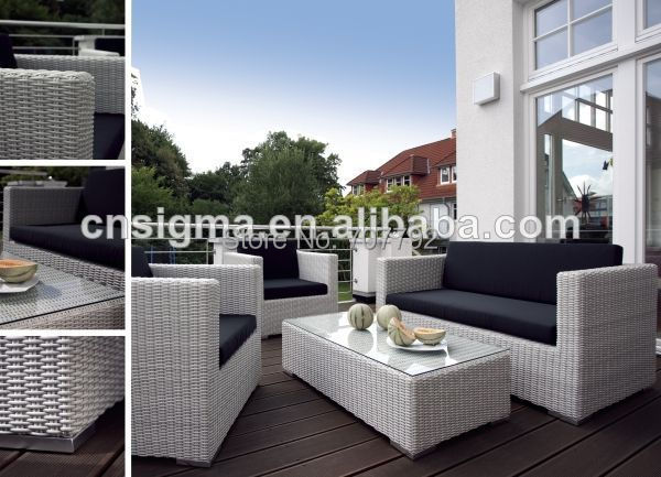 Comfortable outdoor patio furniture rattan cheap living - Cheap comfortable living room chairs ...
