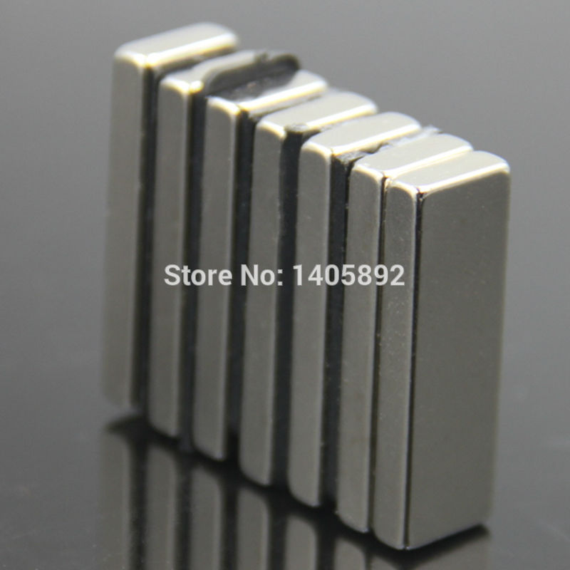 100pcs Super Powerful Strong Rare Earth Block NdFeB Magnet Neodymium N35 Magnets F30*10*4mm- Free Shipping<br><br>Aliexpress