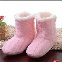 Warm Home Slippers 2015 New Korea Style Flower Lovely Home Shoes,Floor Socks , Indoor Slippers Winter Foot Warmer,5 colors(China (Mainland))