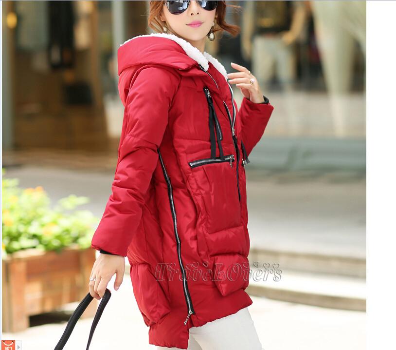 2015 новинка зима сгущать женщин парки женщины пальто мути-градусный цвет парки женщины зимнее военная зима женщины парки tsp1620