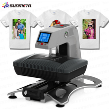 ST-420 Sunmeta Auto-Pneumatic 3D Sublimation Press Machine , newest T-shirt printing heat press machine 26*38cm,220V(China (Mainland))