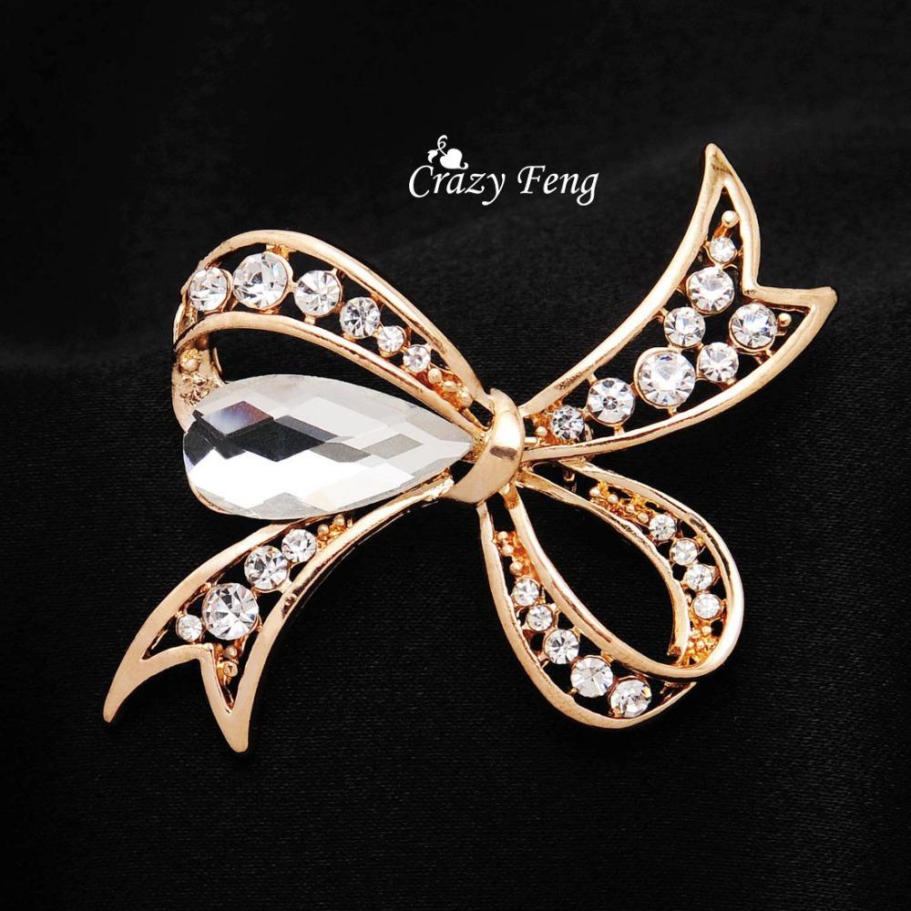 Брошь Crazy Feng  F2254 new arrival 2016 girls big flower dress flower girl party dresses pearl o neck sleeveless princess birthday costume champagne