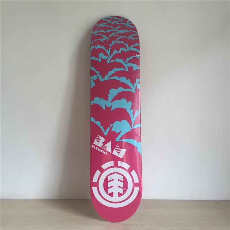 "Pro Elelement Skateboard Decks 7.5"" Canadian Maple Shape Skateboard Street Skateboarding Boards(China (Mainland))"